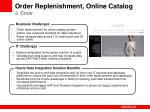 order replenishment online catalog j crew