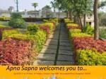apna sapna welcomes you to