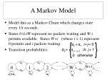 a markov model
