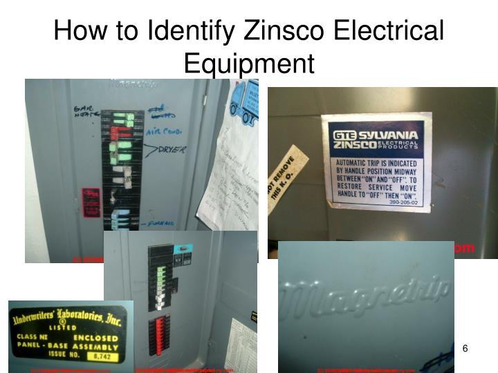 How to Identify Zinsco Electrical Equipment