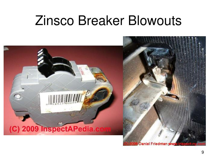 Zinsco Breaker Blowouts