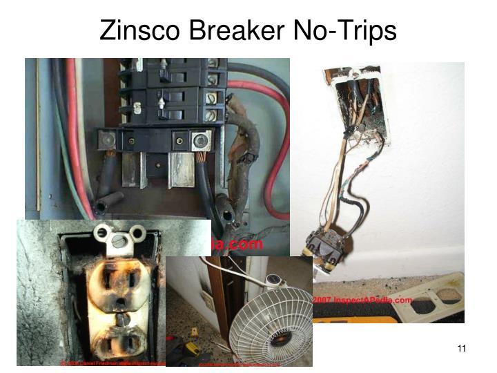 Zinsco Breaker No-Trips