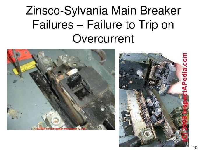 Zinsco-Sylvania Main Breaker Failures – Failure to Trip on Overcurrent