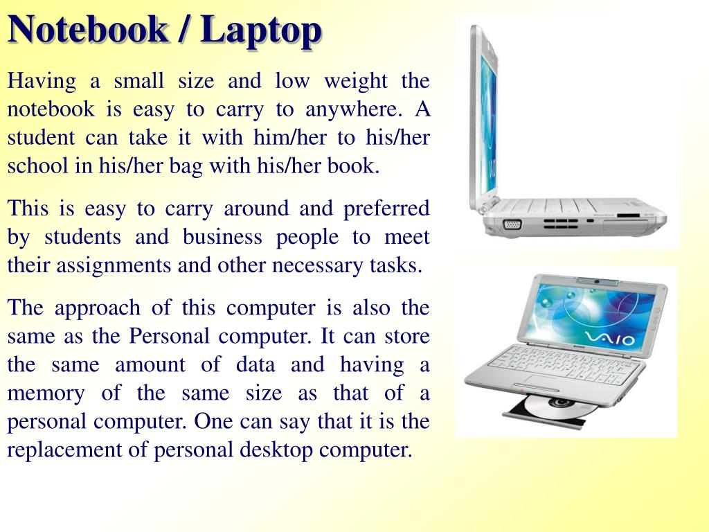 Notebook / Laptop