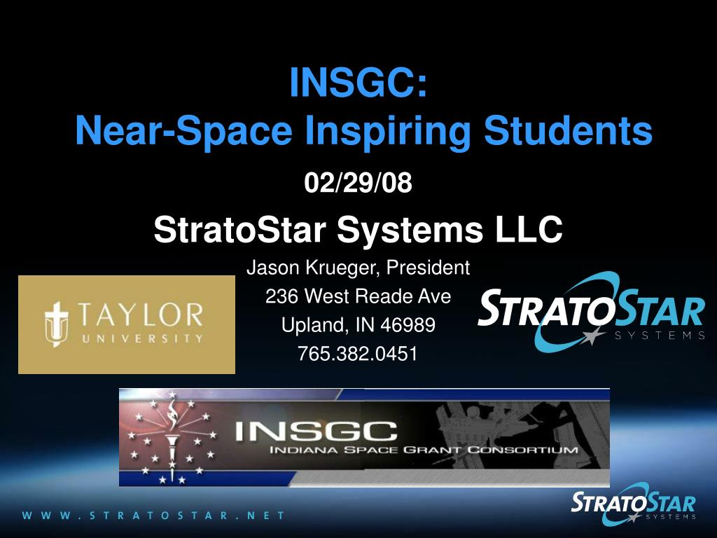 insgc near space inspiring students