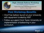 nsf high altitude balloon workshops45