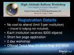 nsf high altitude balloon workshops46