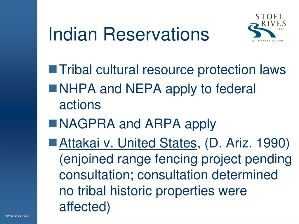 Indian Reservations