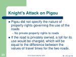 knight s attack on pigou