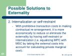possible solutions to externality61