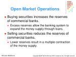 open market operations14