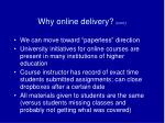 why online delivery cont