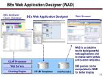bex web application designer wad
