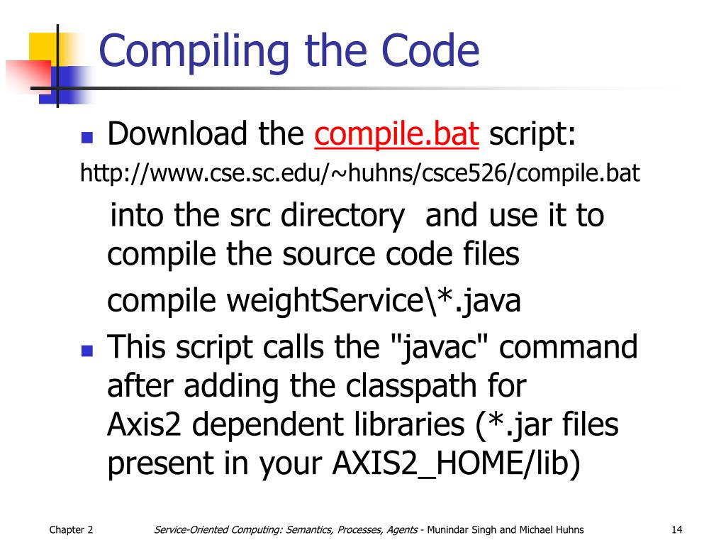 Compiling theCode