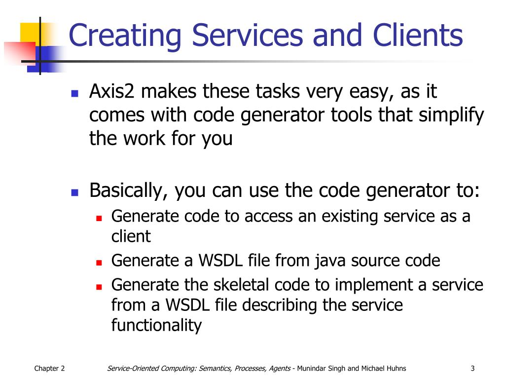 Creating Services and Clients