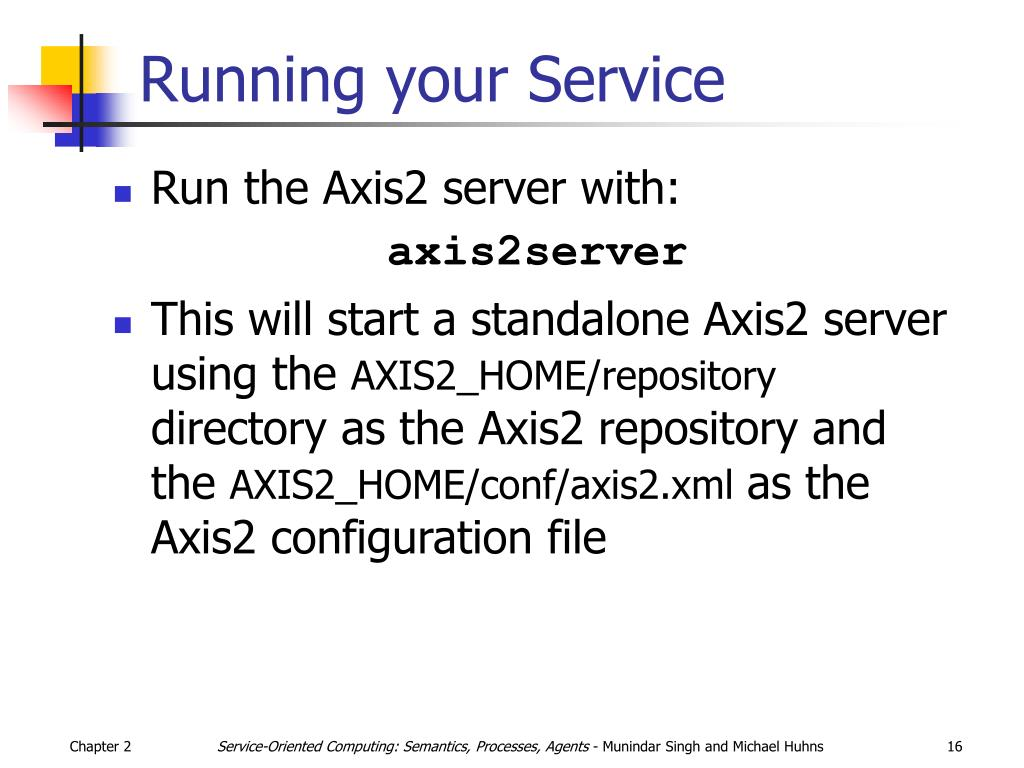 Running your Service