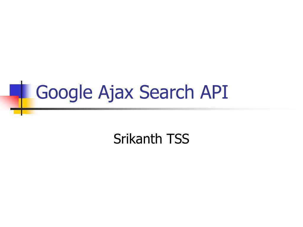 google ajax search api l.