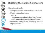 building the native connectors31