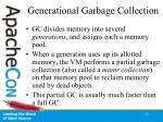 generational garbage collection22