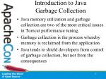 introduction to java garbage collection