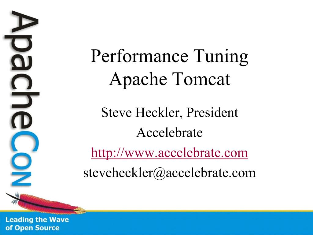 performance tuning apache tomcat l.