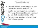 tomcat monitoring