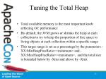tuning the total heap