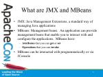 what are jmx and mbeans