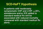 scd heft hypothesis