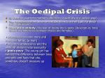 the oedipal crisis