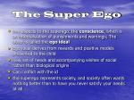 the super ego