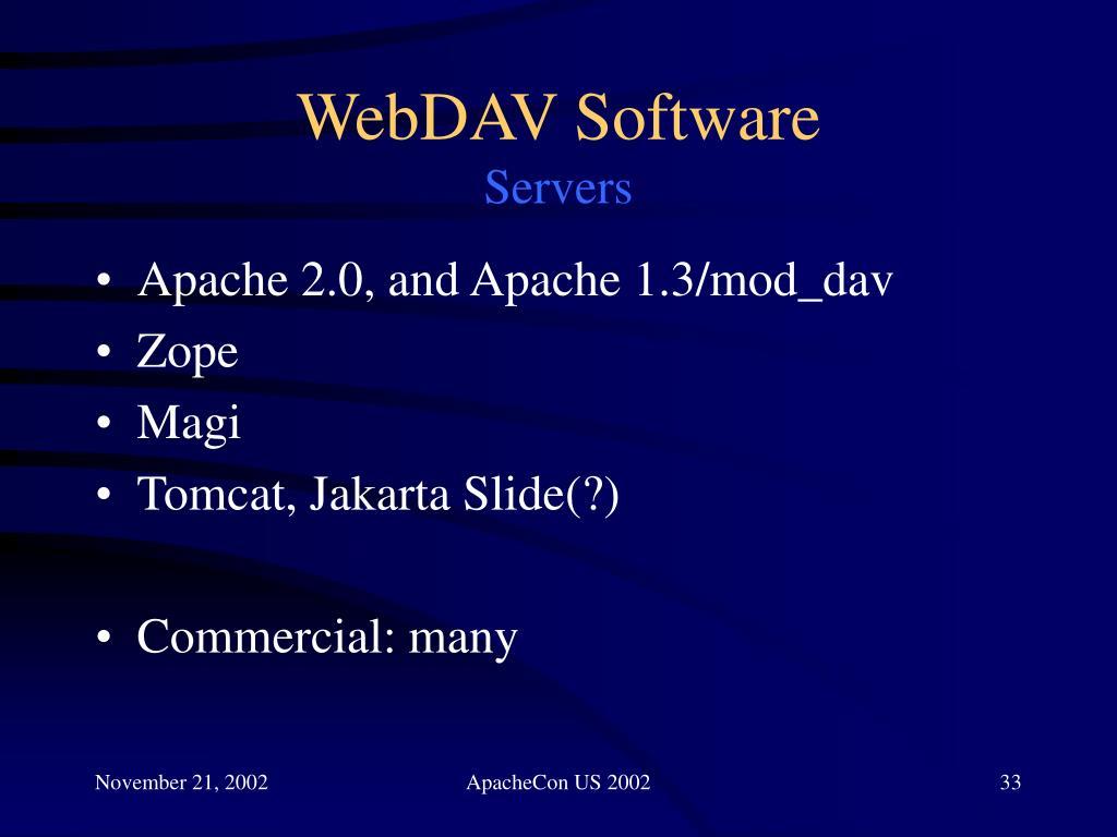 WebDAV Software