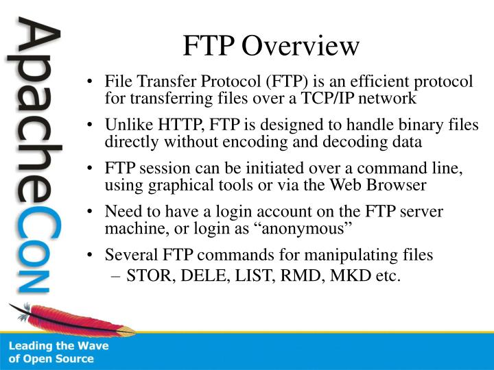 Ftp overview
