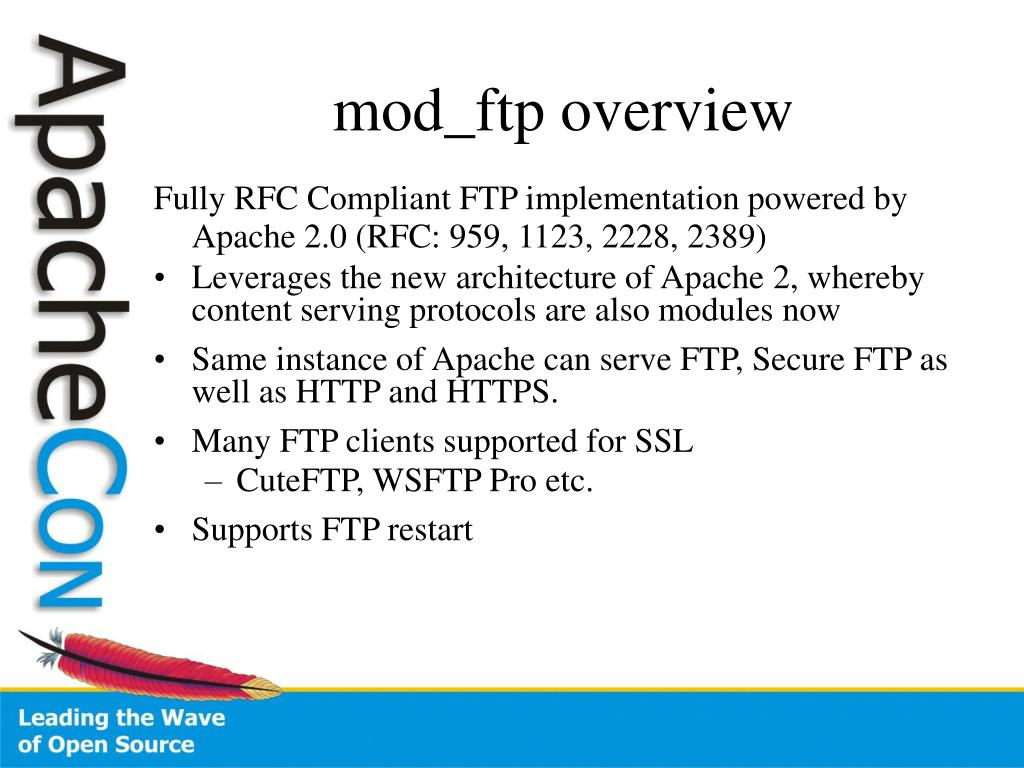 mod_ftp overview