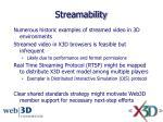 streamability