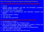 part 3 perceptive reactive system attempted solutions26