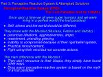 part 3 perceptive reactive system attempted solutions27