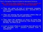 part 3 perceptive reactive system attempted solutions28