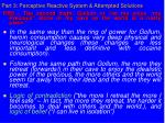 part 3 perceptive reactive system attempted solutions32