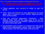 part 3 perceptive reactive system attempted solutions34