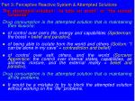 part 3 perceptive reactive system attempted solutions38