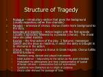 structure of tragedy