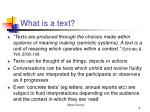 what is a text