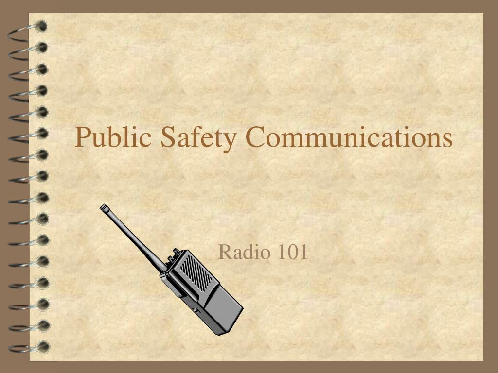 public safety communications l.