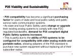 p25 viability and sustainability35