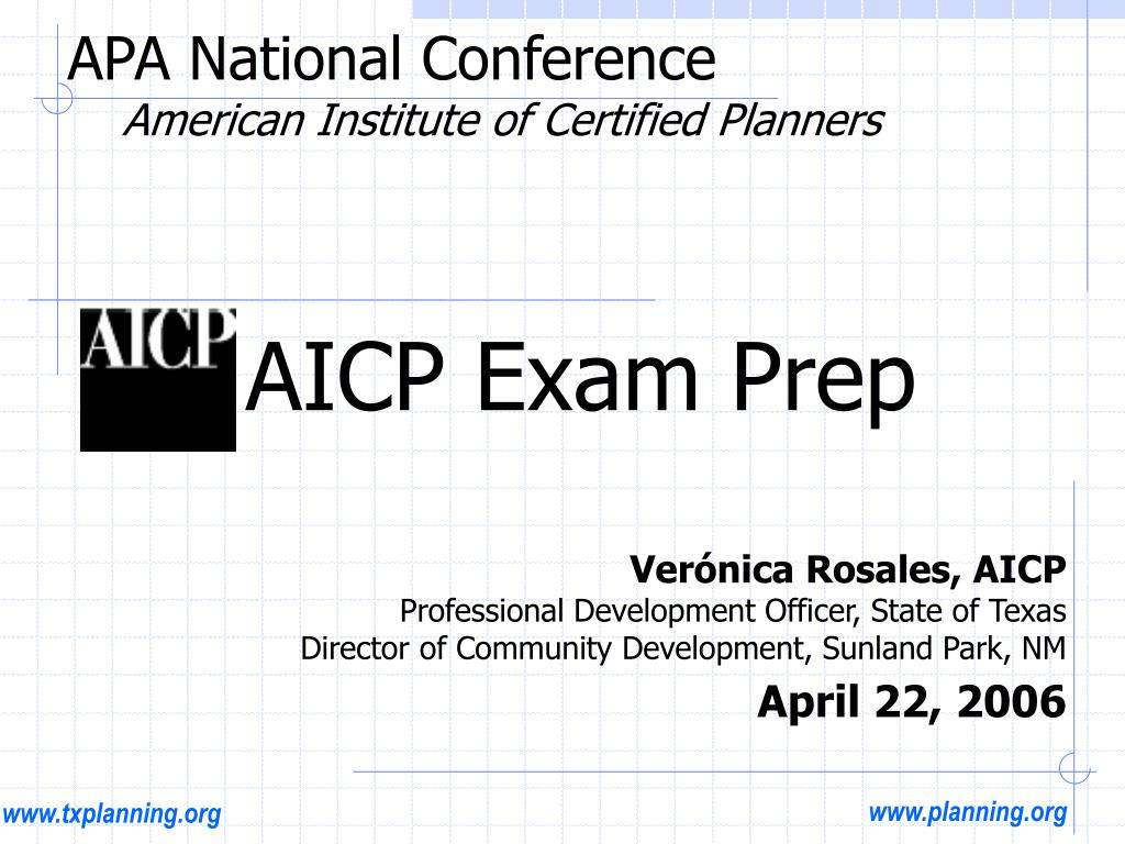 apa national conference american institute of certified planners l.