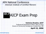 apa national conference american institute of certified planners