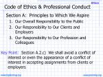 code of ethics professional conduct5