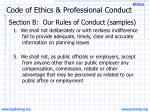 code of ethics professional conduct6
