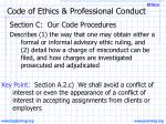 code of ethics professional conduct7